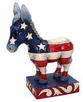 Disney Enesco Jim Shore Figurine Patriotic Donkey