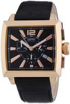 Esprit EL101031F04 - Men's Watch, Leather, Black Tone