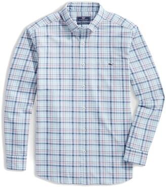 Vineyard Vines Tucker Tidal Classic Fit Plaid Button-Down Shirt