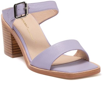 INTENTIONALLY BLANK Impo Leather Block Heel Sandal
