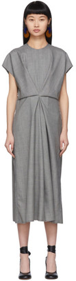 Loewe Grey Draped Dress