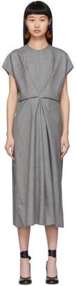 Loewe Grey Draped Dress