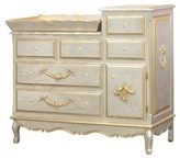 The Well Appointed House French Changer with Tray in Silver and Gold