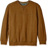 G.H. Bass & Co. Men's Big and Tall Mountain Long Sleeve Fleece Crew Sweater
