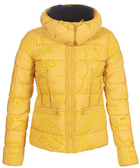 Desigual SUNNA women's Jacket in Yellow