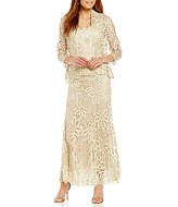 Soulmates 3-Piece Beaded Embroidered Crochet Skirt Set