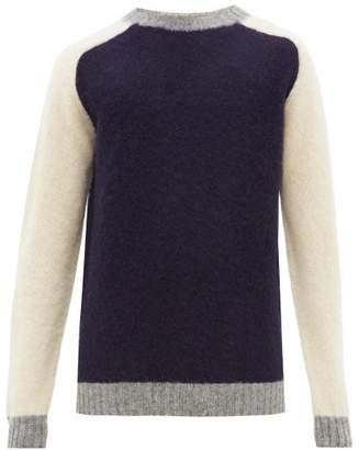 Howlin' - Megatron Man Raglan Sleeve Wool Sweater - Mens - Navy