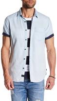 Globe Short Sleeve Vintage Shirt