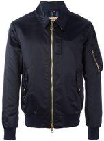 Burberry classic collar bomber jacket