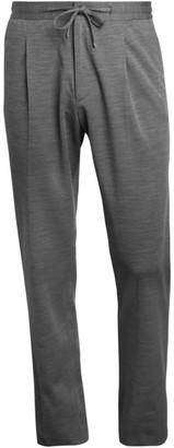 Corneliani Wool Jersey Drawstring Trousers
