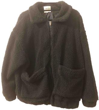 I.AM.GIA Black Polyester Coats