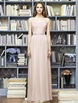 Lela Rose LR214 Dress In Blush