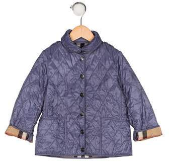 4abf6c160 Burberry Girls Quilted Jacket - ShopStyle