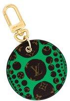 Louis Vuitton Yayoi Kusama Pumpkin Dots Keychain