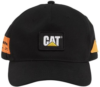 Heron Preston Cat Patch Cotton Baseball Cap