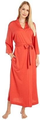 Natori Shangri-La Robe (Heather Red Lava) Women's Robe