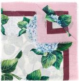 Dolce & Gabbana hydrangea print scarf - women - Silk/Cashmere - One Size