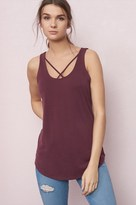Garage Tunic Tank With Front Detail