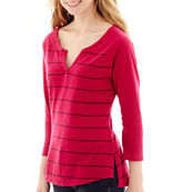 Arizona 3/4-Sleeve Colorblock Baseball T-Shirt