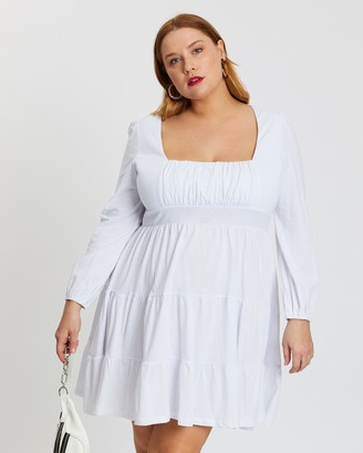 Mika Muse Shazza Shirred Waist Dress