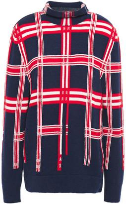 Cédric Charlier Intarsia Wool Sweater