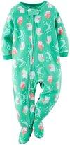 Carter's Baby Girls Fleece Pajamas (, Print)