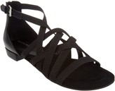 Marc Fisher Cross Weave Stretch Sandals - Play
