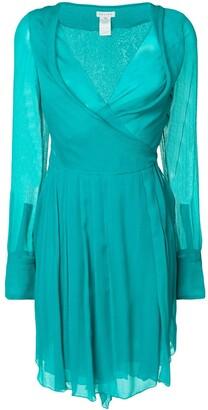 Celine Pre Owned chiffon dress