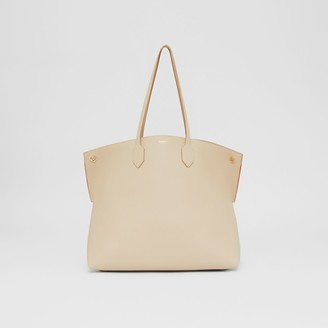 Burberry Large Leather Society Tote