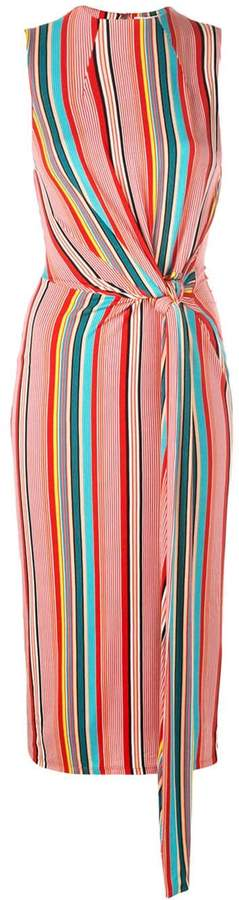 Alice + Olivia Alice+Olivia striped midi dress