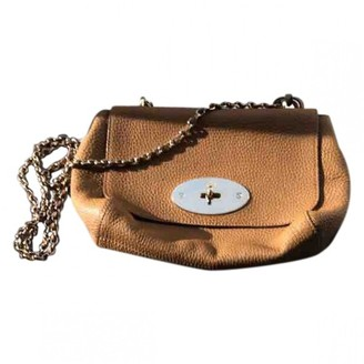 Mulberry Lily Medium Camel Leather Handbags