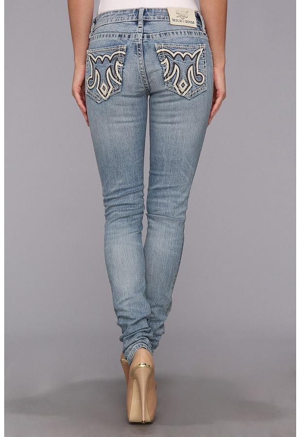 MEK Langford Skinny Jean in Light Blue