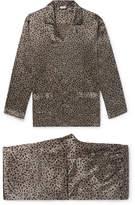 Zimmerli - Printed Silk-Satin Pyjama Set