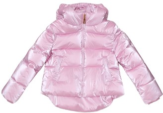 MonnaLisa Metallic puffer coat