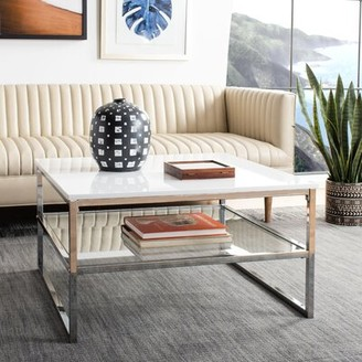 Safavieh Aliza Floor Shelf Coffee Table with Storage
