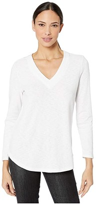 Nic+Zoe Countryside Top (Paper White) Women's Clothing