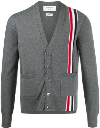 Thom Browne Stripe-Detail Cardigan
