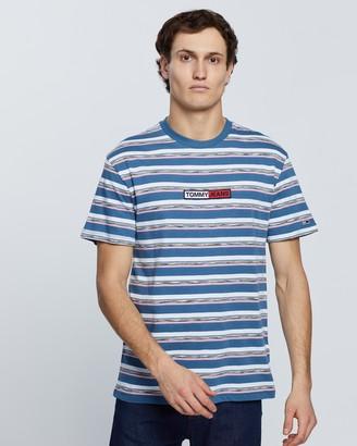 Tommy Jeans Seasonal Stripe Logo Tee