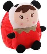 Panda Superstore Lovely Panda Dolls Toddler Backpack Infant Villus Knapsack Cute Baby Bag 1-3Y