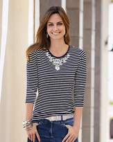 Together Stripe Jersey Top