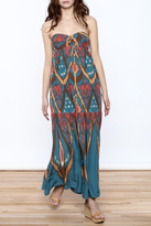 Free People Strapless Maxi Dress