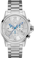 Gc Y08007G1 esquire silver-tone watch