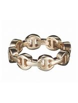 HOORSENBUHS 18K Dame Tri-Link Ring