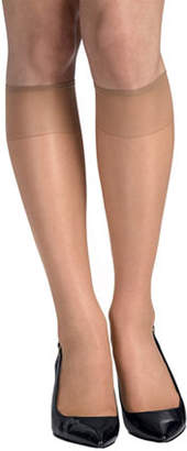 Hanes 2-pk. Knee-High Reinforced Toe Hosiery No Color Family