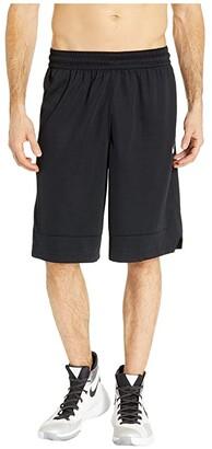 Nike Dry Icon Shorts (Black/Black/White) Men's Shorts