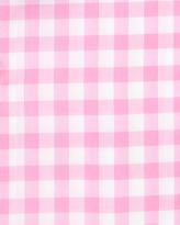 Neiman Marcus Trim-Fit Non-Iron Gingham Dress Shirt, Pink