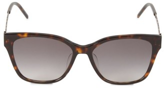 Saint Laurent 56MM Cat Eye Sunglasses