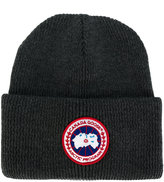 Canada Goose ribbed knit beanie