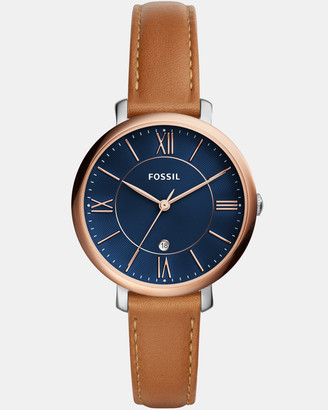 Fossil Jacqueline Brown Analogue Watch