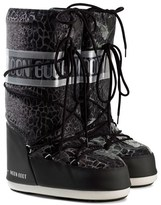 Moon Boot Black Sunset Snake Effect Moon Boots